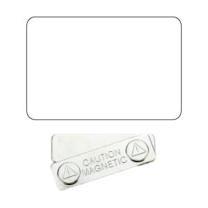sublimation blank name badge