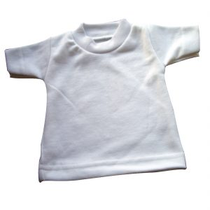sublimation blank mini t-shirt
