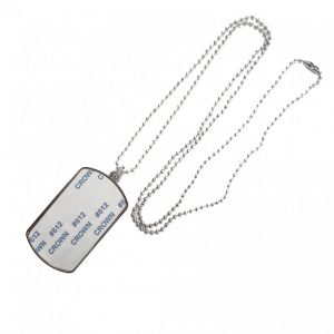 sublimation blanks dog tag necklace