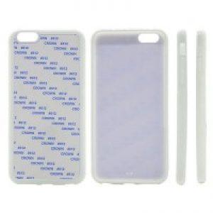 sublimation blank iPhone 6 plus rubber case